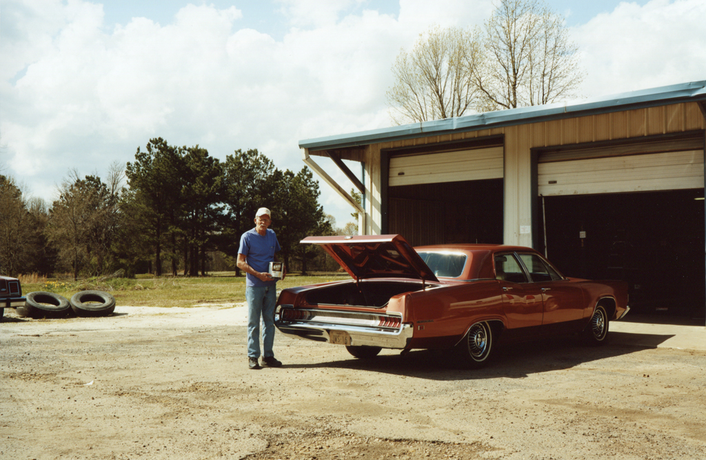 Young Blood and His car's Original Paint, Texas, 2010.