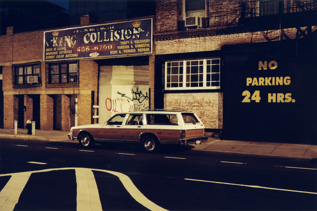 The Country Squire's Street,  Williamsburg, Brooklyn, 2008.