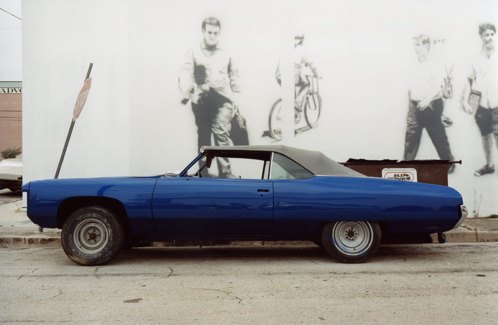 The Blue Dodge Convertible's Corner, Miami, 2009.