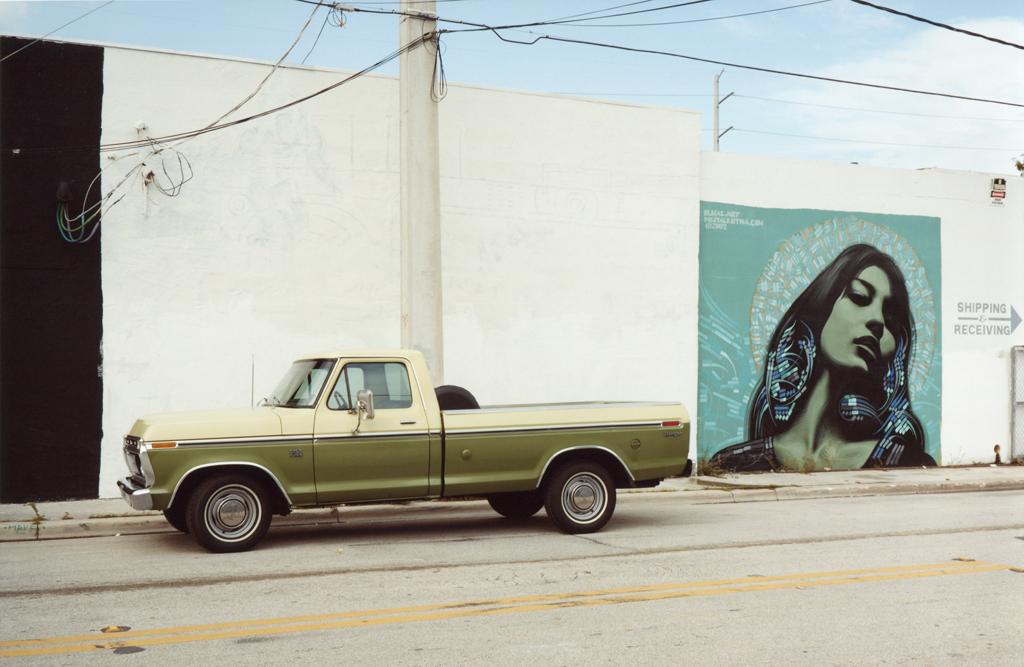 The vintage Truck's Street, Miami, 2009.