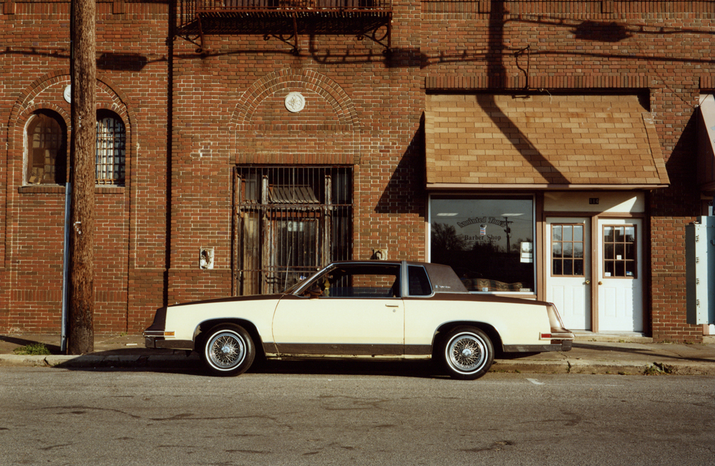 The Barber's Car, Mississippi, 2010.