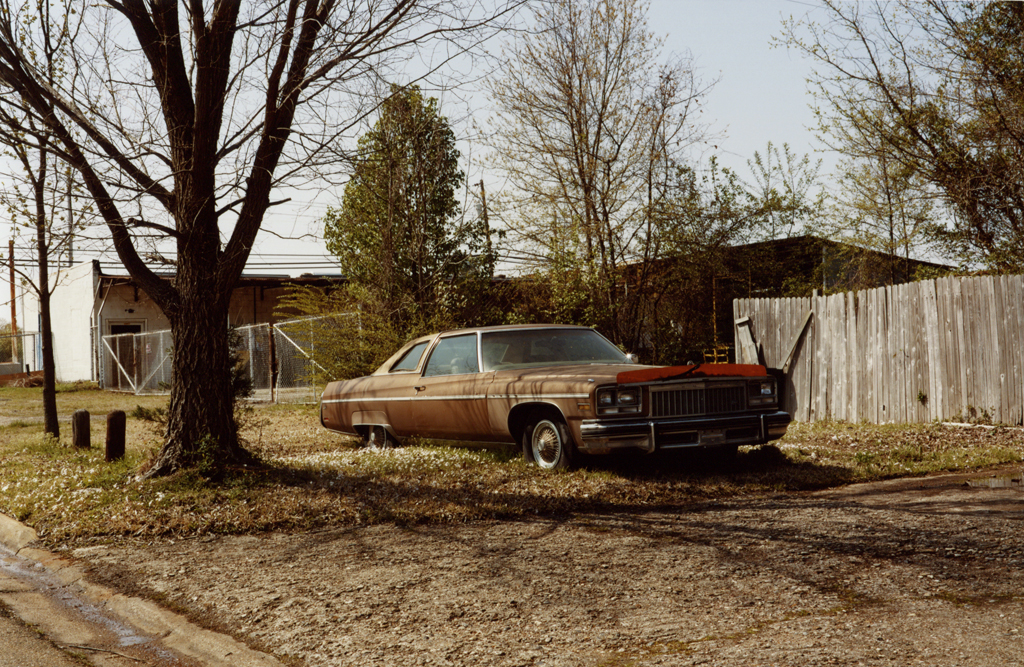 The Brown Car's Parking, Texas, 2010.