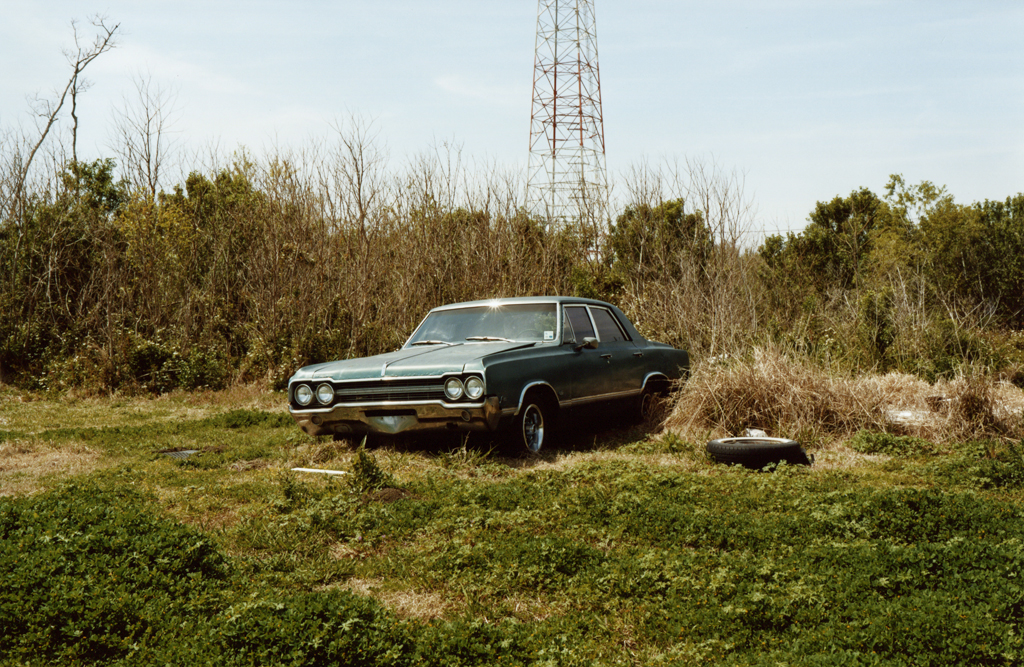 The Blue Car's Field, Luisiana, 2010.