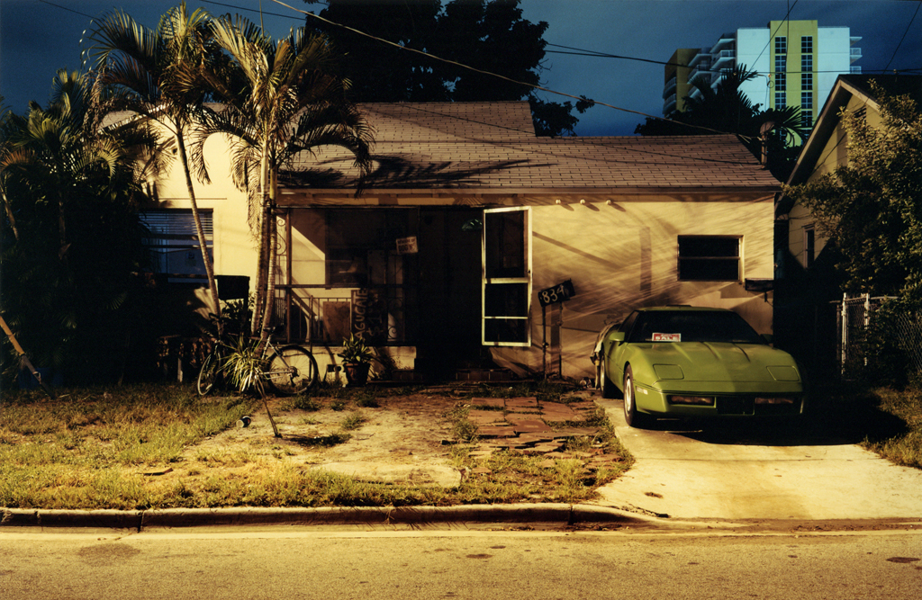 The Green Corvette's House, Miami, Florida, 2009.