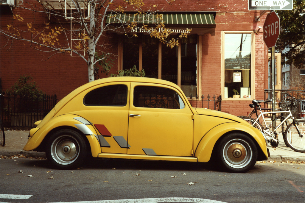 The Yellow Buggy, Brooklyn, 2010.