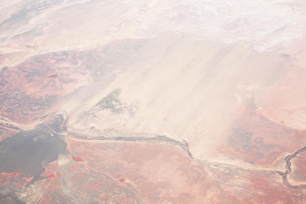 """Untitled # 27. Jan. 2014. At 36000 Feet."