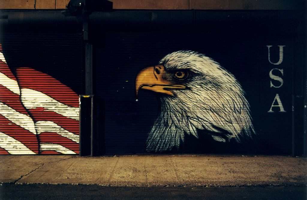 The American Eagle Street, Williamsburg, Brooklyn, N.Y. 2008.