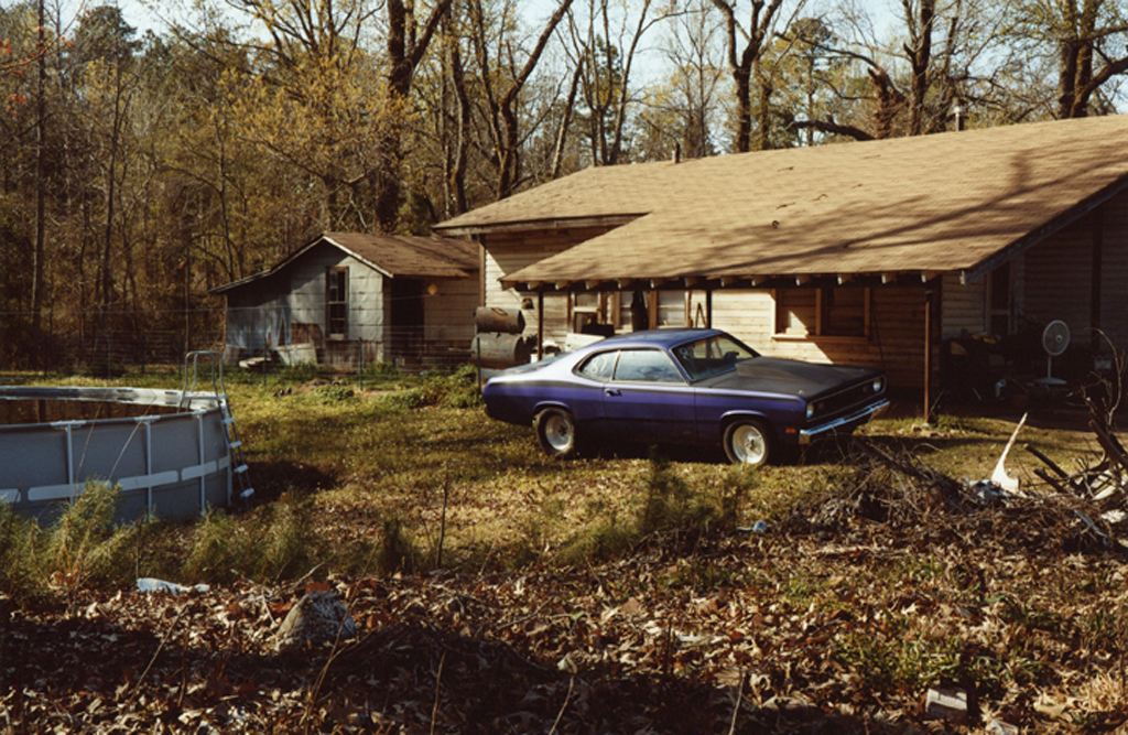 The Purple Car's House. Luisiana, 2010.