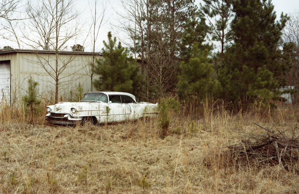 The White Cadillac, Texas, 2010.