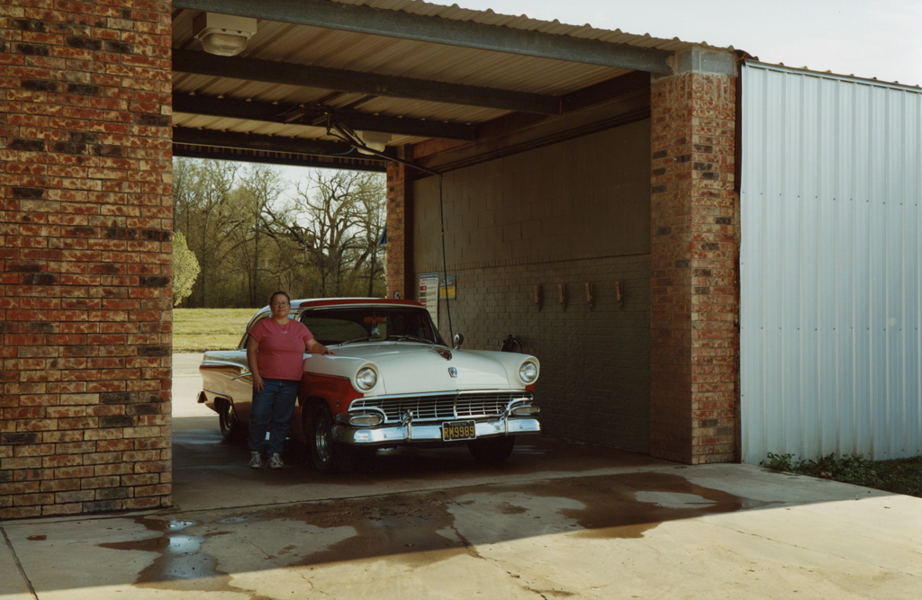Jill and Her Ford Fairlane, Texas, 2010