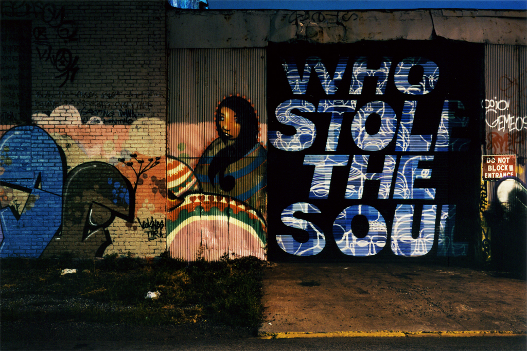 The Stolen Soul Street, Greenpoint, Brooklyn, NY, 2008.