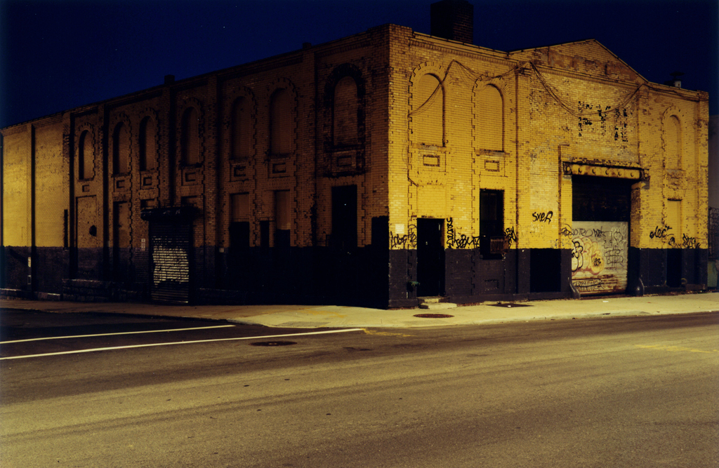 The Yellow Corner, Williamsburg, Brooklyn, N.Y. 2007.