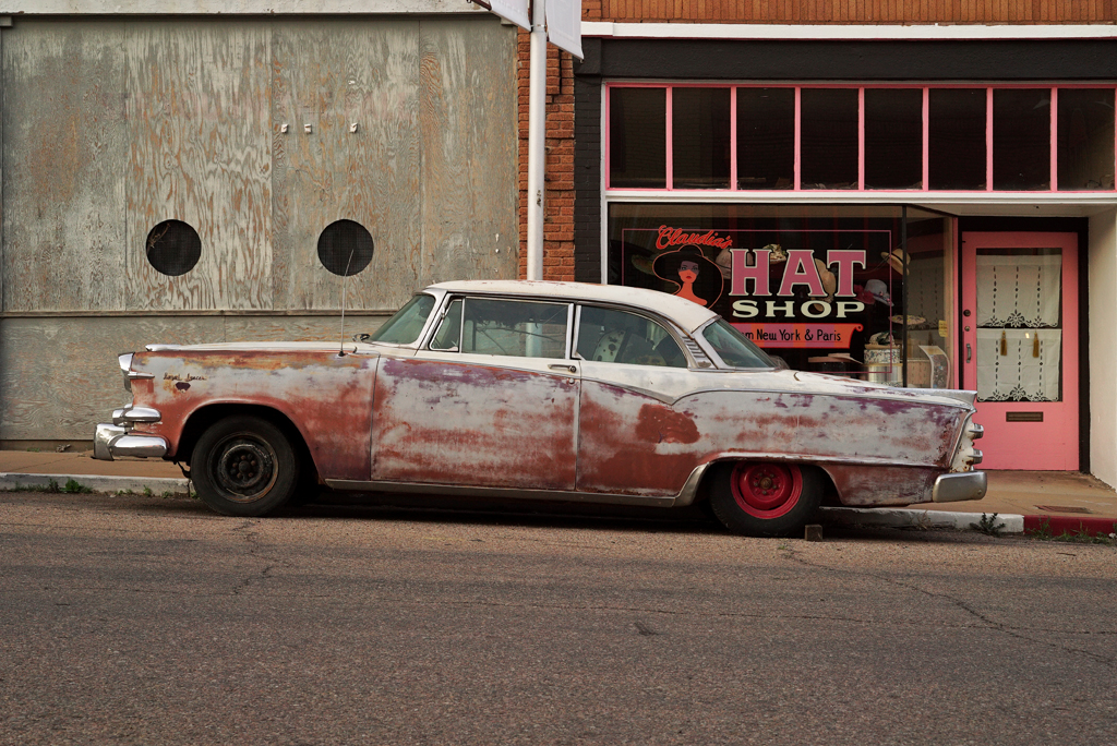 The Rusty Car's Street. Bisbee, Arizona, 2015.
