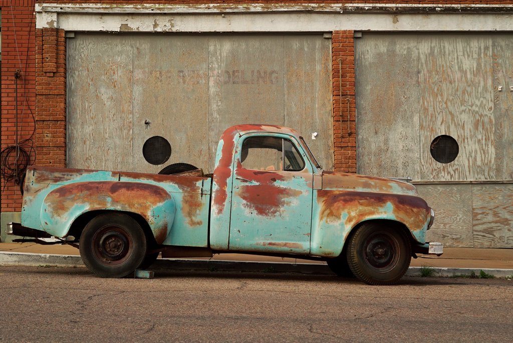 The Rusty Truck's Street. Bisbee, Arizona, 2015.