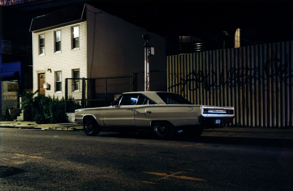 The White Dodge's Street, Williamsburg, Brooklyn, N.Y. 2006.