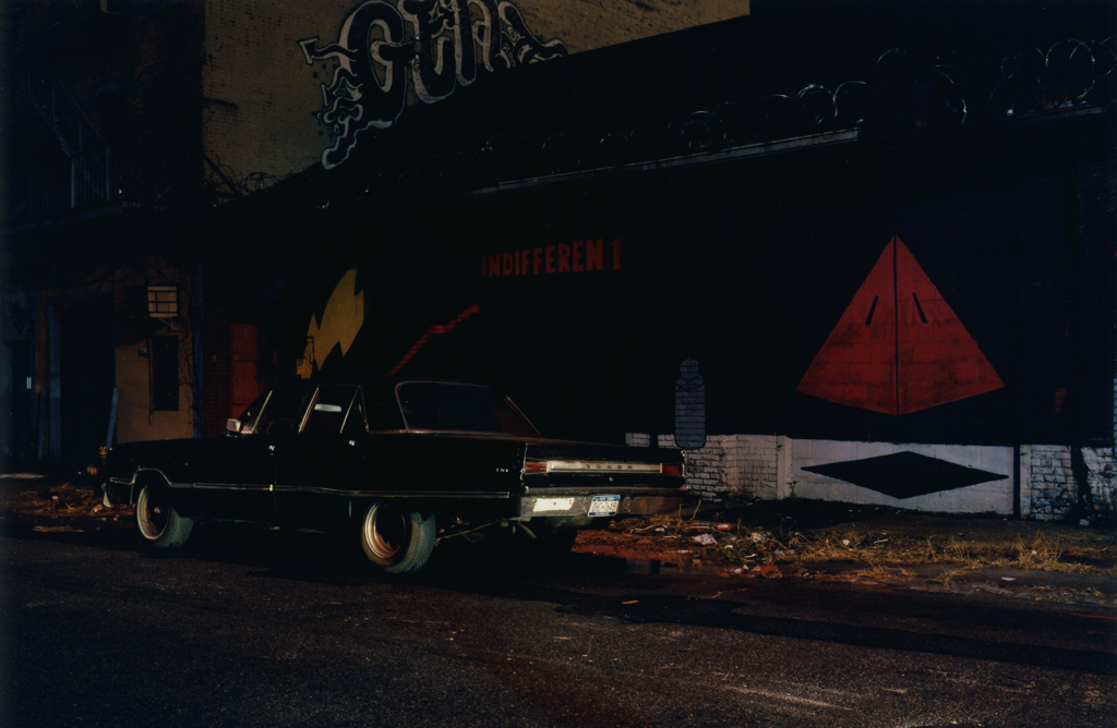 The Black Dodge's Street, Williamsburg, Brooklyn, N.Y. 2006.