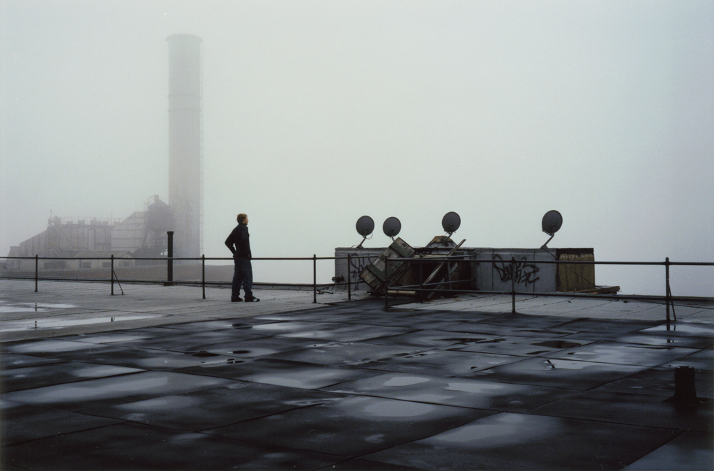 Rob and The Fog, 475 Kent, Brooklyn, New York, 2004.
