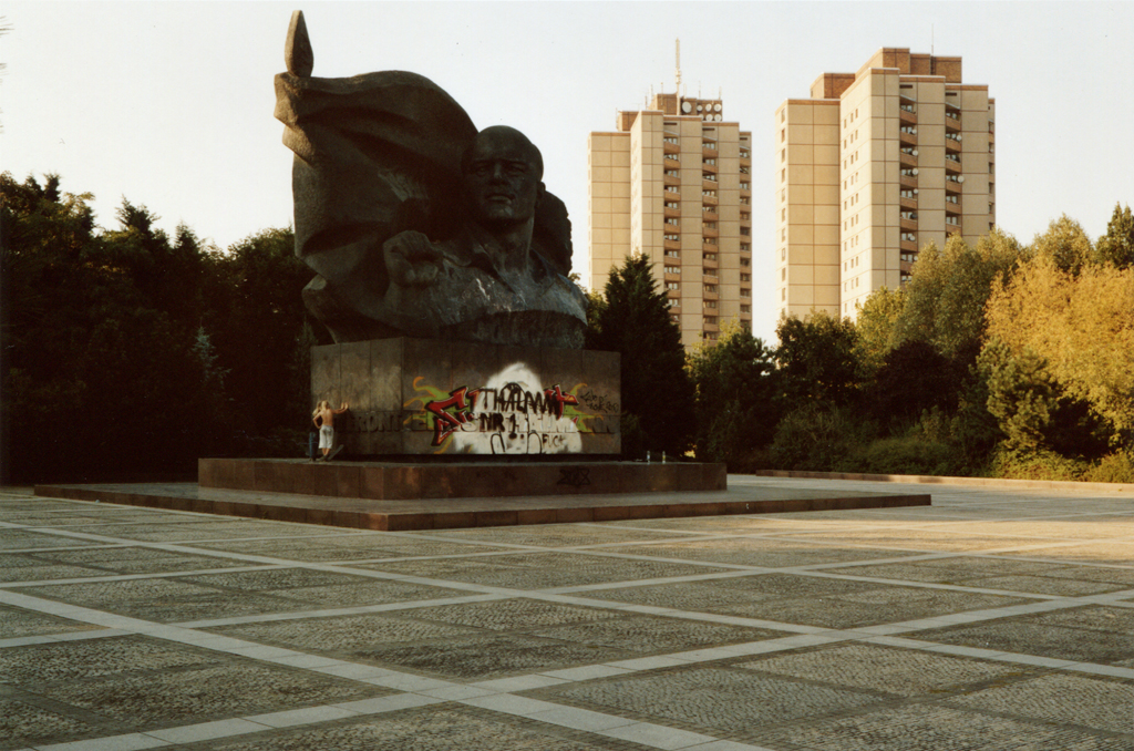 The Skaters' Monument, Berlin, 2006.