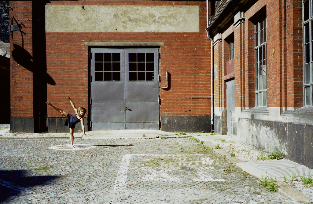 "Claudia, dancer of ""The Dance"" Nike Project, Berlin, Germany, 2006."