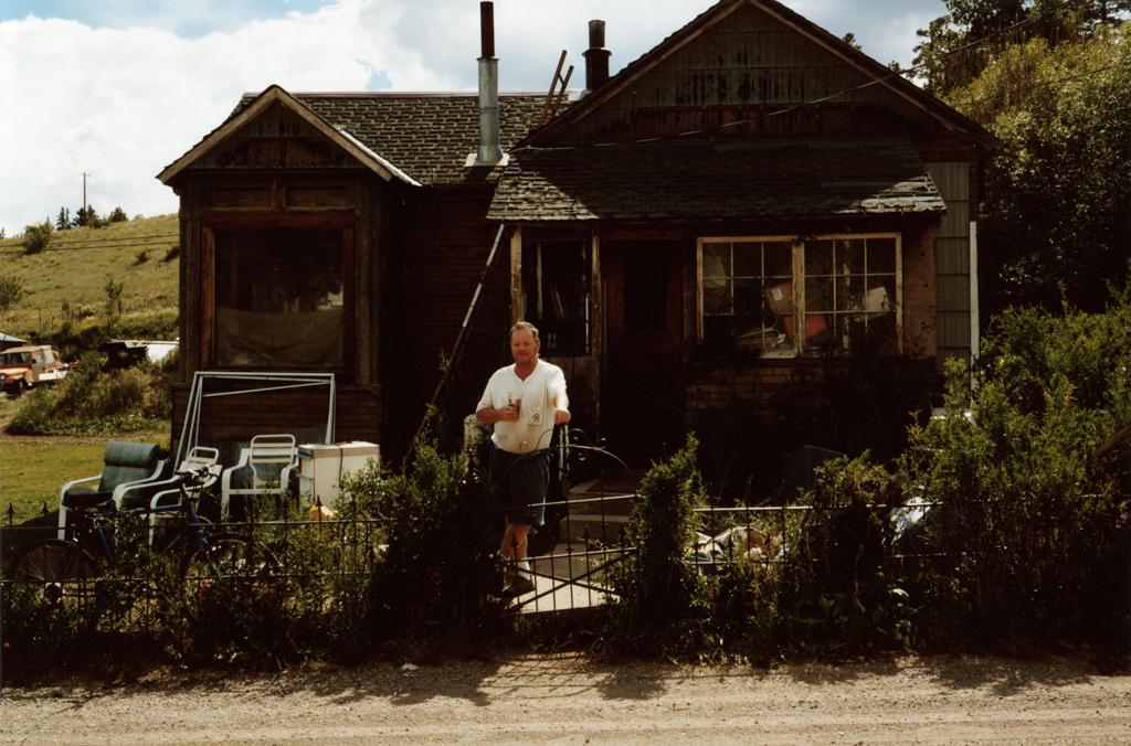 Ex mineworker, Colorado, 2006.