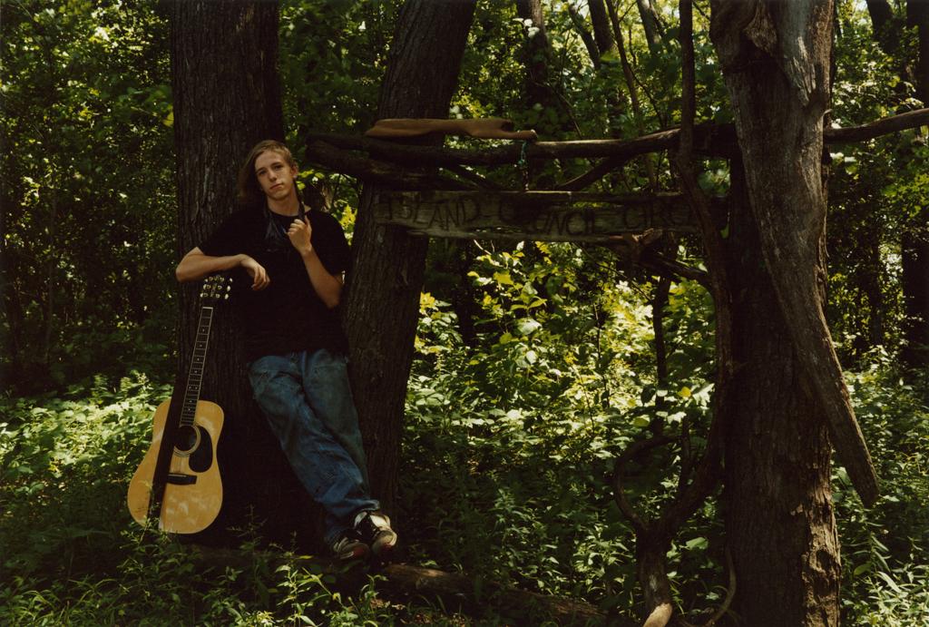 Ray Matteson, Musician, Latsch Island, Minnesota, 2009.